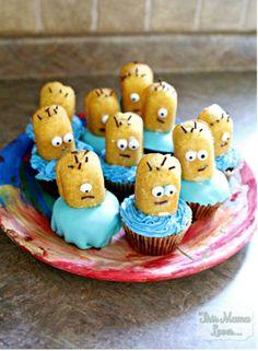 Despicable Me Minion Surprise Cupcakes Recipe