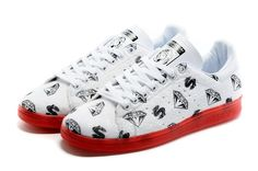 reputable site 180f4 c4b37 2016 Billionaire chicos Club X Adidas Originals PW Stan Smith Ponyhair  Blanco rojo S32037 Stan