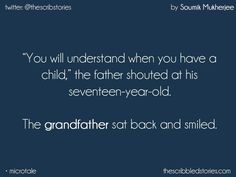 Tales to treasure | Family secrets | Fathers' love | Bonding | Relations | Tiny tales | Generations