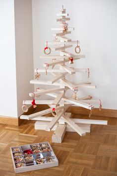 Árbol navidad de madera