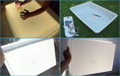 Ideas que mejoran tu vida Plastic Cutting Board, Diy, Montessori, Ideas, To Tell, Activities For Kids, Blue Prints, Sensory Bottles, Lightbox