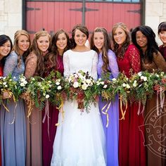 Jessa Seewald Played Matchmaker for Jinger Duggar and Jeremy Vuolo Duggar Girls, Duggar Family, Duggar Sisters, Jinger Duggar Wedding, Wedding Dress Styles, Wedding Gowns, Wedding Bouquets, Wedding Flowers, Brides And Bridesmaids