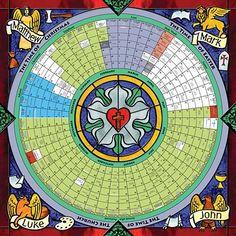 The church year calendar is the churchs system of observing sundays lutheran church year circular calendar via cyberbrethren fandeluxe Images