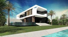 ToGu Architecture - Villa Biscayne – Miami Beach Conception d'une villa de 480 m² / 5 200 SQ FT Miami Beach- Normandy Shore