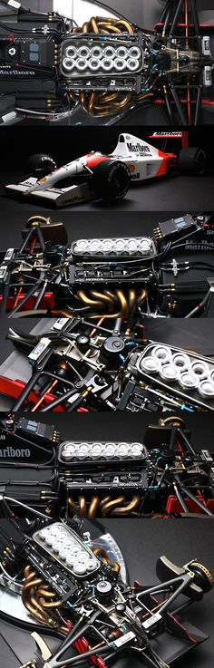 Symphony of Honda engines in the old day - late 1960s Now in 2016-2017, McLaren wishes they were still as good.