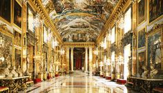 Palazzo Colonna Rome Travel, Italy Travel, Palazzo, Places To Travel, Places To Visit, Baroque Design, Vatican City, Classical Architecture, Worlds Largest