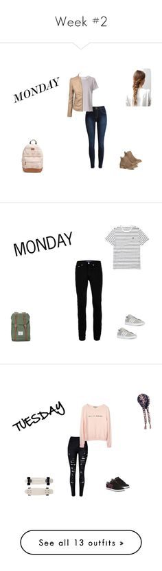 """Week #2"" by pocok01 ❤ liked on Polyvore featuring rag & bone, Dorothy Perkins, Rip Curl, Ralph Lauren, Topman, Herschel, adidas, men's fashion, menswear and Etnies"