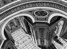 Maurits Cornelis Escher -  St. Peter, Rome