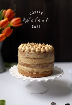 This rich and wholesome coffee walnut cake is perfect for any occasion.