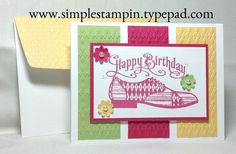 Dapper Dad with Perfectly Penned to create a super Golf Birthday Card! - Stampin' Up!
