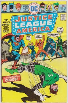 Justice League of America DC Comics #127 Vol1 FN+ 6.5