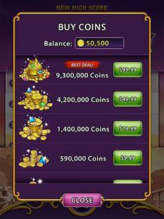 Bejeweled Blitz Virtual currency Bank: screenshots, UI