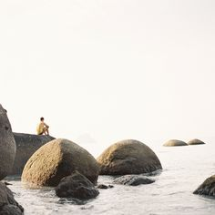 Rocks by the ocean in Langkawi, Malaysia.  Peace.