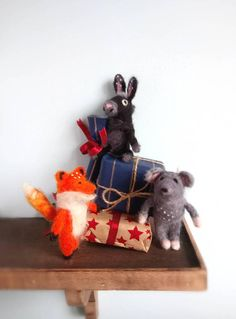 Check out this item in my Etsy shop https://www.etsy.com/uk/listing/556458734/needle-felted-animal-sell-individually