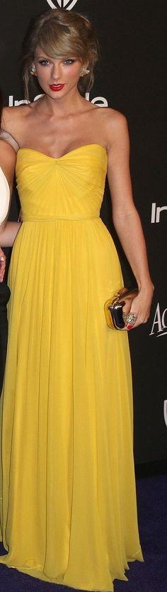 Taylor in a Jenny Peckham dress