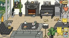 Layout Inspiration, Home Deco, Cats, Classic, Gaming, Luxury, Places, House, Decor