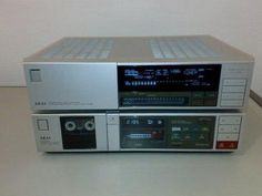 Akai AA-A45 receiver and HX-R44 tape deck!