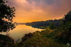 Sunrise Lake by William Mevissen on 500px