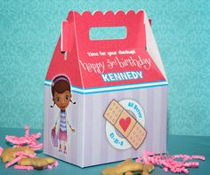 Doc McStuffins Birthday Party Favors PACK by AmysCardCreationsLLC, $65.00