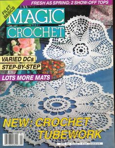 Magic Crochet Nº 77 (1992) - claudia - Álbuns da web do Picasa