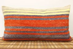 Bedding pillow 12 x 40 Decorative Pillow cover by kilimwarehouse