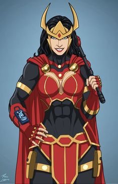 Big Barda (Earth-27) commission by phil-cho