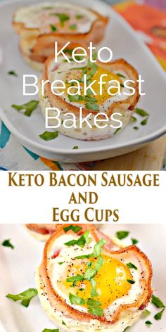 Recipes Breakfast Videos These Keto Breakfast Cups are the perfect make ahead breakfast to enjoy all week long! Made with sausage, bacon, and eggs these low carb breakfast bakes have almost perfect macros to start your day! Keto Diet Breakfast, Breakfast Cups, Breakfast Recipes, Breakfast Ideas, Breakfast Snacks, Breakfast Cookies, Egg Recipes, Low Carb Recipes, Diet Recipes