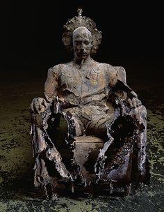"Group ""Family"" - Caspar Berger, made in bronze."