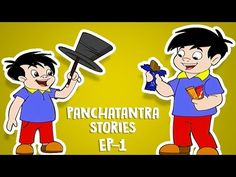 Tales Of Panchatantra In Hindi | Animated Cartoon Stories For Children - 1 | Kahaniyaan - YouTube