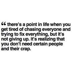 Life's too short. amen.