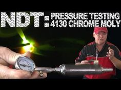 NDT: Pressure Testing 4130 Chrome Moly   TIG Time  Learn how to modify your welds so you can easily test your welds for cracks and leaks, even after your project is painted!