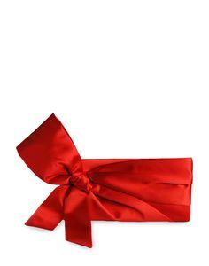 Valentino satin clutch   www.riley-jane.com