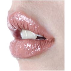 Ellis Faas Creamy Lips in Pale Peach L108 ($35) ❤ liked on Polyvore
