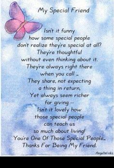 Ideas Birthday Quotes For Best Friend Friendship Poems Words For 2019 Special Friend Quotes, Best Friend Poems, Special Friends, Special People, Thank You Quotes For Friends, Happy Birthday Wishes For A Friend, Poems About Best Friends, Amazing Friend Quotes, Thank You Best Friend