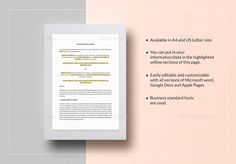 Relationship Agreement Template  Formats Included  Ms Word