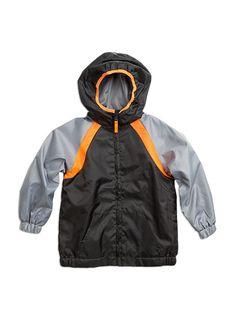 Pumpkin Patch - rainwear - contrast  raincoat - W5RW60005 - dark grey - 6 to 12