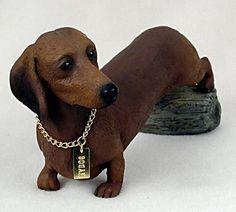 Dachshund Dog Statue Figurine Home Yard & Garden Decor Dog Products & Dog Gifts.