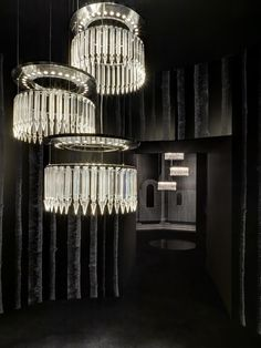 Baccarat chandeliers. Available at the DD Building suite 1005 #ddbny #baccarat