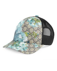 a9cf7a939b4 Gucci GG MESH BASEBALL HAT IN BLUE