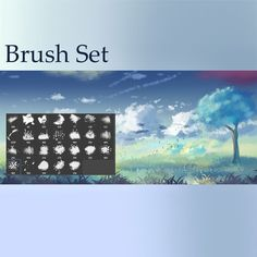 Here are 12 sets of high-quality and free Photoshop brushes that you can use for digital painting (and photo manipulation as well). Photoshop Cloud, Cool Photoshop, Photoshop Brushes, Photoshop Actions, Photoshop Tutorial, Photoshop For Photographers, Photoshop Photography, Digital Painting Tutorials, Photo Manipulation