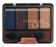 COVERGIRL Queen Collection #Q235 BRASS N SASS Assorted Eyeshadow Quad SATIN New