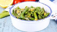 Vous ne savez pas quoi faire en entrée ? Voici notre #recette de #salade d' #haricots verts et de #maïs. C'est #facile à faire et c'est délicieux.