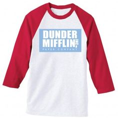 nbc.com - The Office Dunder Mifflin Softball Shirt ($26.00)