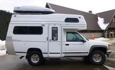 Small Truck Camper, Slide In Camper, Small Trucks, Cool Trucks, Overland Truck, Overland Trailer, Expedition Truck, General Motors, Land Rover Defender