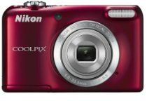 Nikon COOLPIX Compact Digital Camera - Black Optical Zoom) inch LCD (discontinued by manufacturer) Camera Shutter Speed, Point And Shoot Camera, Nikon Coolpix, Fujifilm Instax Mini, Cool Toys, Digital Camera, Compact, Buy Camera, Red
