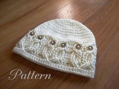 "This listing is for an Instant Download CROCHET PATTERN ONLY, and not the actual hat shown. It's a Hoot!,, A beanie style hat done in beautiful cables to create an owl pattern all around the brim. The ""owls"" eyes are buttons which are attached during the actual crochet work and not sewn after. So no sewing on later!!! Standard 5/8 Inch buttons were used, but pony beads may be used as well. Stylish and classy for the adults and yet very cute and fun for the kids too! Pattern is w..."