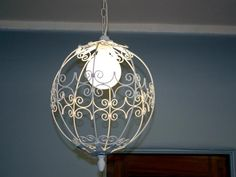 How to salvage retro light fixtures --> http://www.hgtv.com/design/decorating/furniture-and-accessories/updating-a-retro-style-chandelier?soc=pinterest