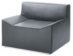 Couchoid Lounge Chair - Slate - Blu Dot - $899.00 - domino.com