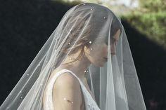 THEODORE pearl chapel wedding veil 15