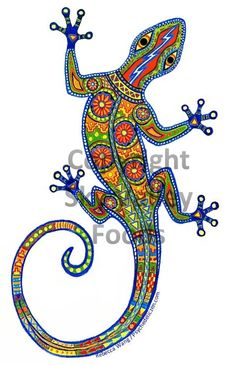 Oaxacan lizard for Sky Valley Food's Chile Lime soda. Conté pastel pencils on white Ampersand Pastelbord, 12 x ~~~~~~~~~~~~~~~. Mandala Art, Mandala Painting, Dot Art Painting, Stone Painting, Kunst Der Aborigines, Rock Crafts, Aboriginal Art, Label Design, Fabric Art
